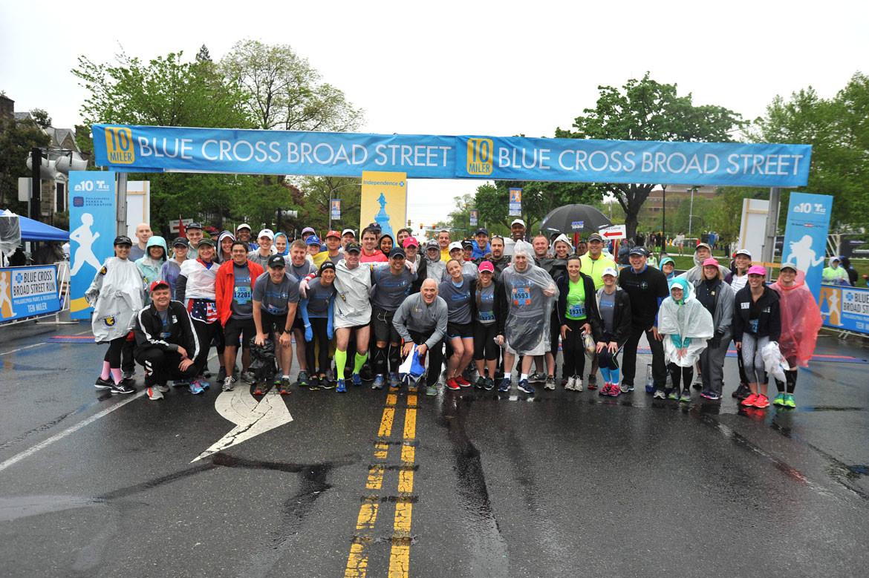 blue cross broad street run