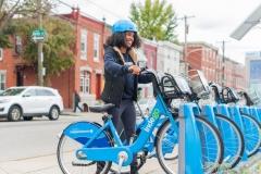 Indego, Philadelphia's Bike Share sponsored by Independence Blue Cross