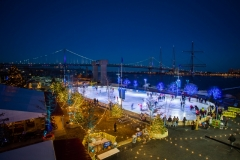Blue Cross RiverRink Winterfest, photo courtesy of Delaware River Waterfront