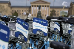 Indego, Philadelphia's Bike Share sponsored by Independence Blue Cross