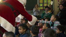 Sheppard School Santa