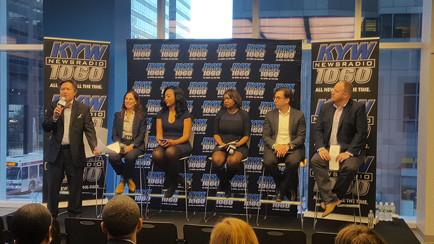 Independence LIVE hosted KYW Newsradio for its annual Executive Briefing, an in-depth discussion on some of the most pressing topics and issues happening now and expected for the coming year.