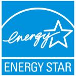 Energy Star logo - white on blue background