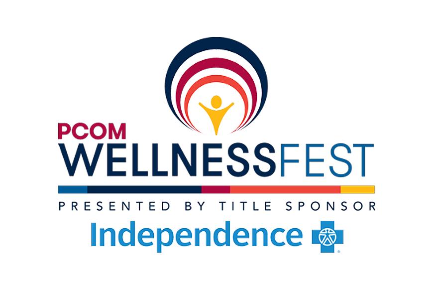 PCOM Wellness Fest logo