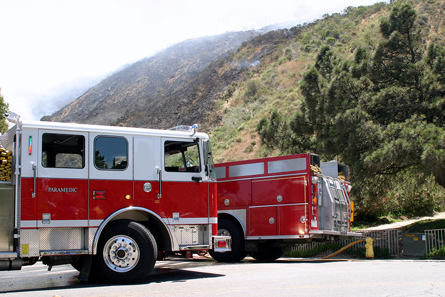 California Fire Trucks