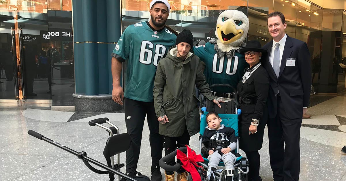 best service 67b23 04e5c Independence Blue Cross teams up with Philadelphia Eagles at ...