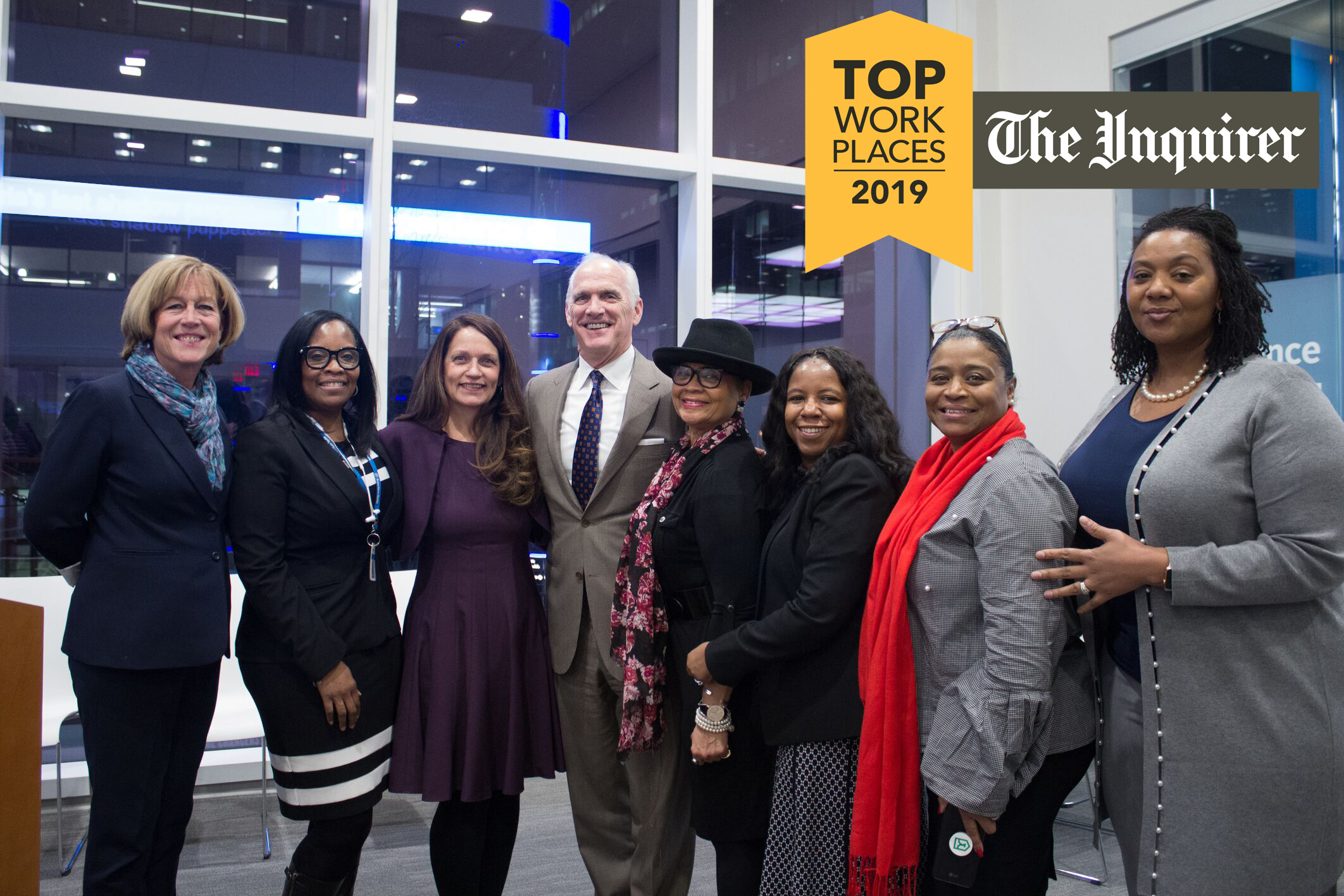 Independence associates celebrate the anniversary of our diversity and inclusion program with CEO Dan Hilferty at Independence LIVE.
