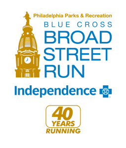 Blue Cross Broad Street Run logo